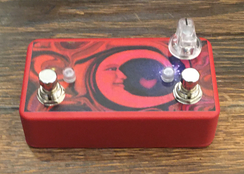 Used Lovepedal Red Moon Boost/Overdrive Guitar Effect Pedal