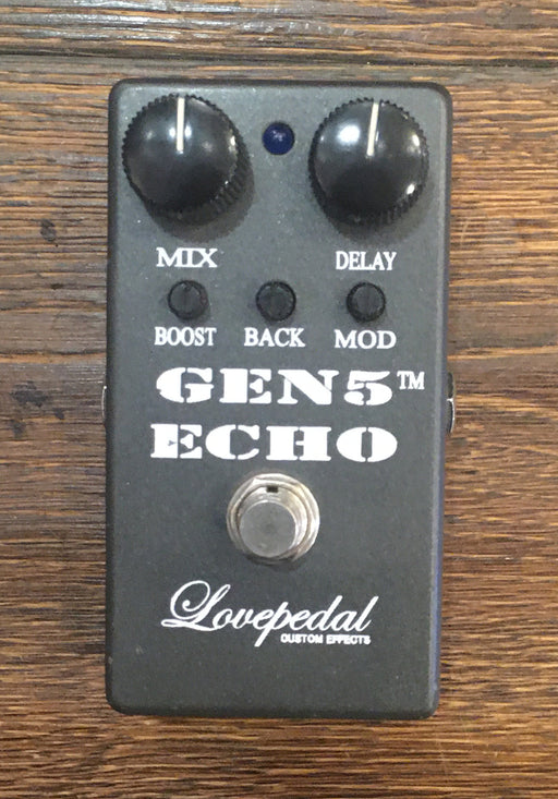 Used Lovepedal Gen 5 Echo Delay Guitar Effect Pedal