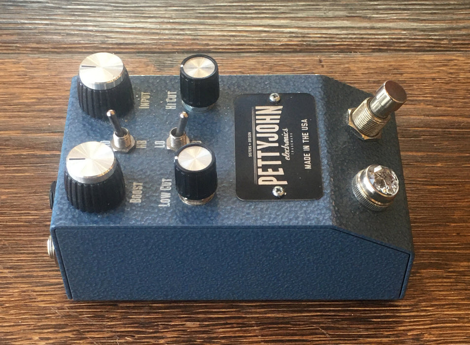 Used Petty John PettyJohn Lift Boost Guitar Effect Pedal V1 With Box