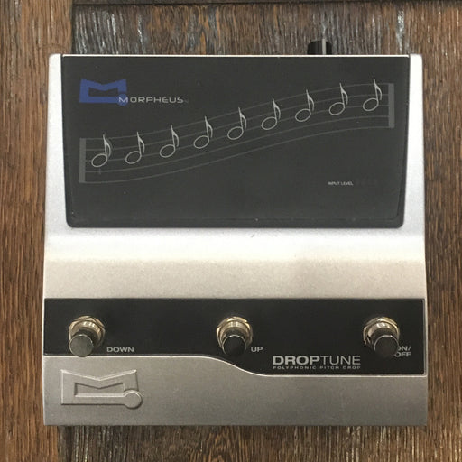 Used Morpheus DropTune Pitch-Shift Guitar Effect Pedal **No Adapter**