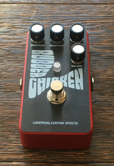 Used Lovepedal Rubber Chicken Filter Guitar Effect Pedal With Box