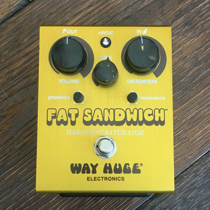 Used Way Huge Fat Sandwich Overdrive Guitar Effect Pedal