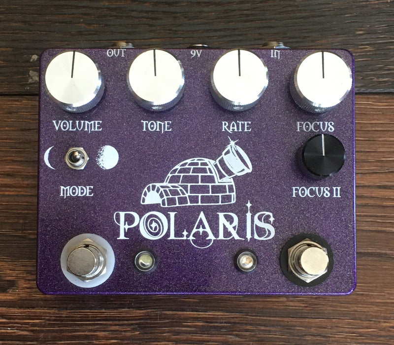 Used Coppersound Polaris Chorus Vibrato Guitar Effect Pedal With Box