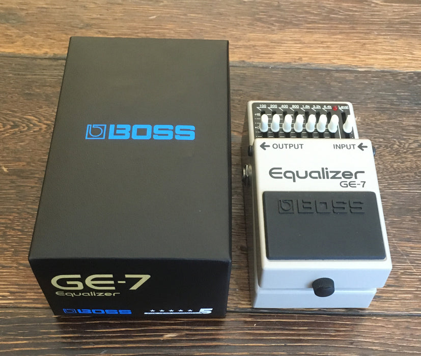 Used Boss GE-7 EQ Guitar Effect Pedal