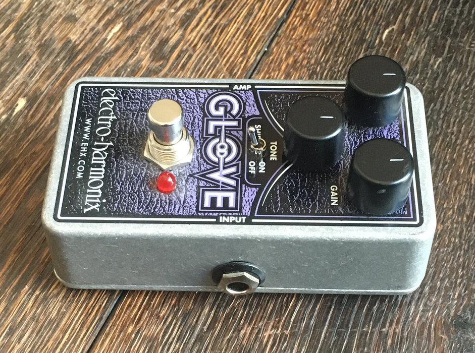 Used Electro-Harmonix Glove MOSFET Overdrive / Distortion Guitar Effect Pedal