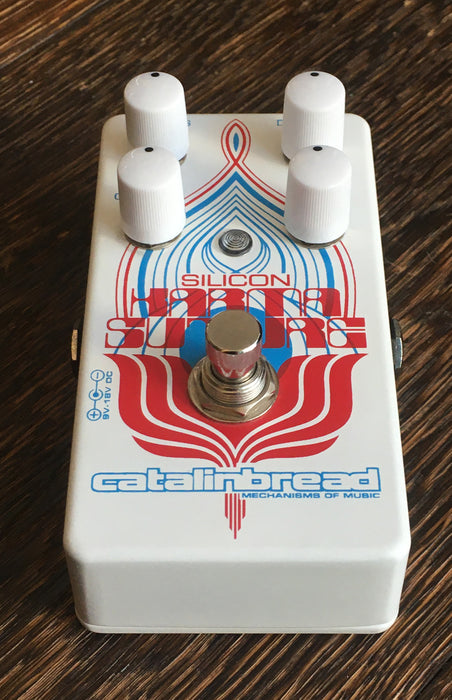 Used Catalinbread Silicon Karma Suture Fuzz Pedal With Box