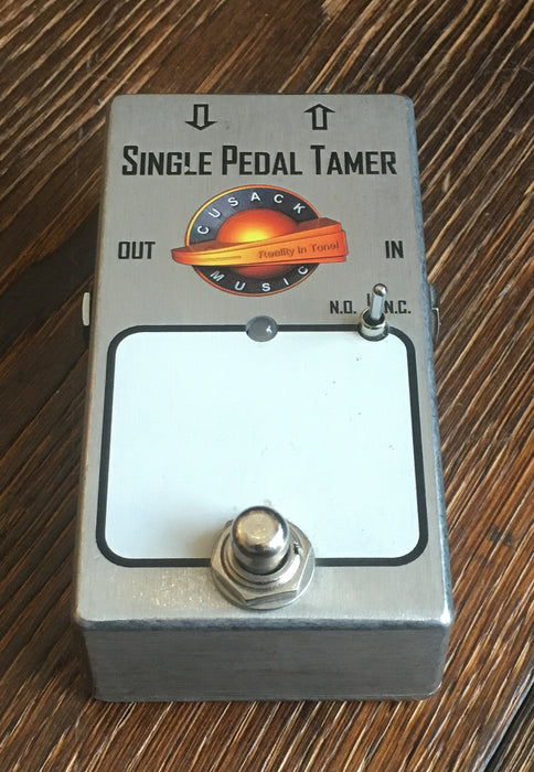 Used Cusack Audio Single Pedal Tamer Single Loop Pedal Switcher Guitar Effect Pedal With Box