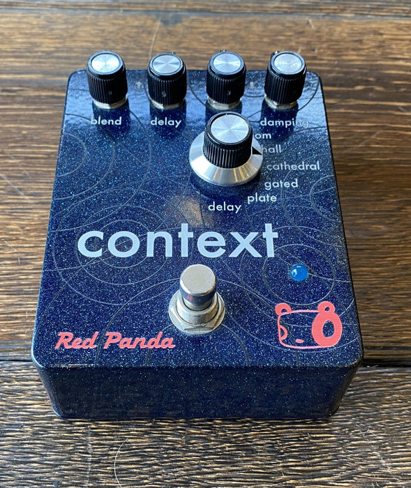 Used Red Panda Context Reverb Guitar Effect Pedal