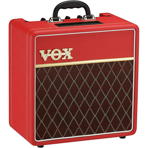 Vox AC4C1-RD 1x10 Classic Red Limited Edition Tube Guitar Combo Amp