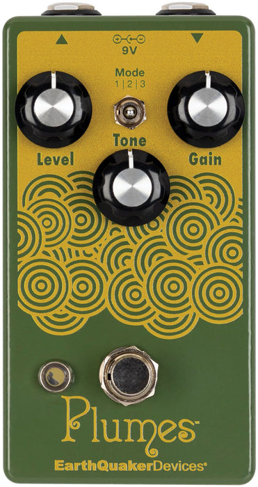 Earthquaker Devices Plumes Overdrive Guitar Effect Pedal