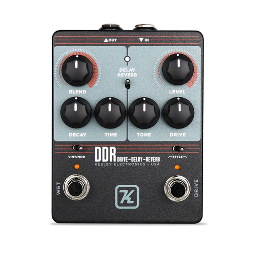 Keeley DDR Drive - Delay - Reverb Guitar Effect Pedal