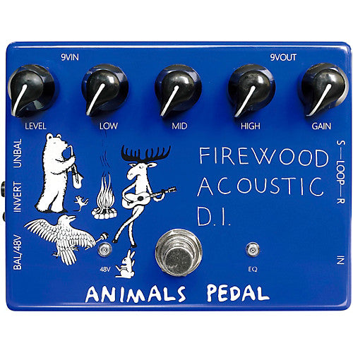 Animals Pedal Firewood Acoustic DI Guitar Effect Pedal
