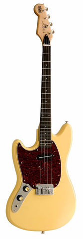 Eastwood Warren Ellis Tenor Vintage Cream Left-Handed