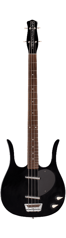 Danelectro '58 Longhorn Electric Bass Guitar Black