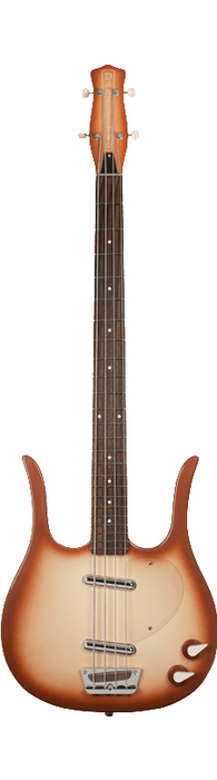 Danelectro '58 Longhorn Electric Bass Guitar Copperburst