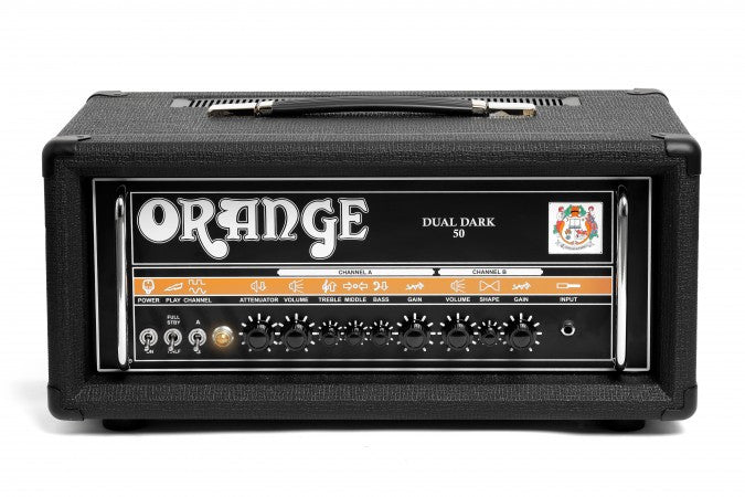 Orange Dual Dark 50 Amp Head