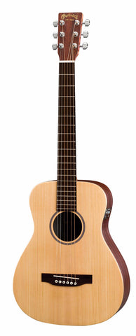 Martin LX1E Left Handed Solid Spruce Top Little Acoustic Electric Guitar
