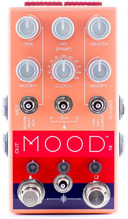 Chase Bliss Audio Mood Two Channel Micro-Looper Delay Guitar Effect Pedal