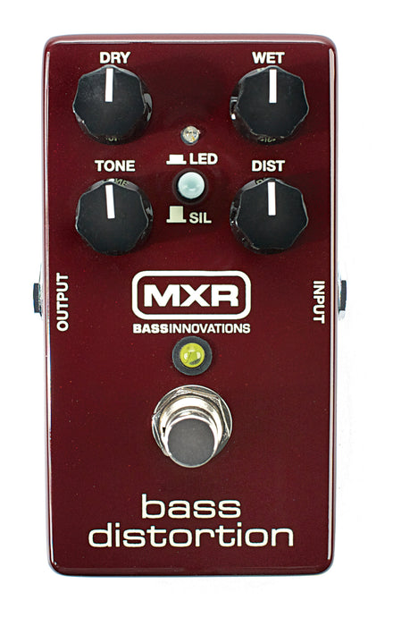 MXR/Dunlop M85 Bass Distortion Bass Guitar Pedal