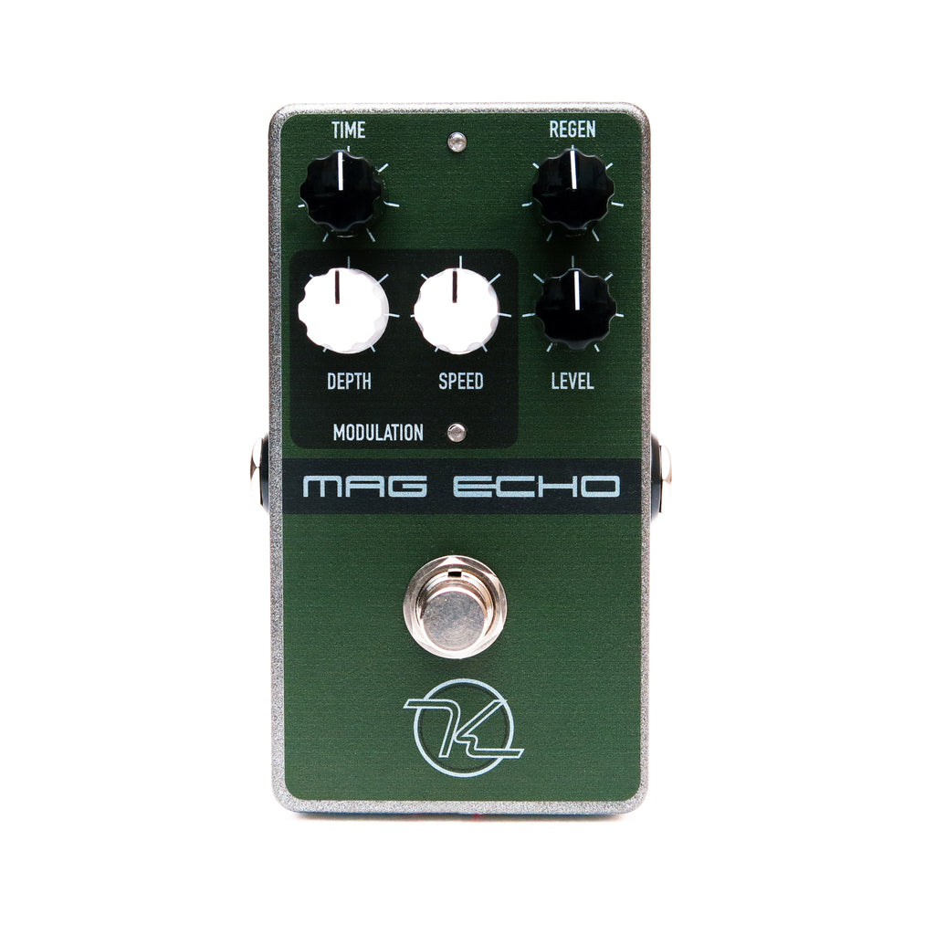 Keeley Magnetic Echo – Modulated Tape Echo Guitar Effect Pedal