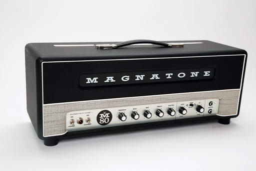 Magnatone Super Fifty-Nine M-80 45 Watt EL-34 Tube Guitar Amp Head