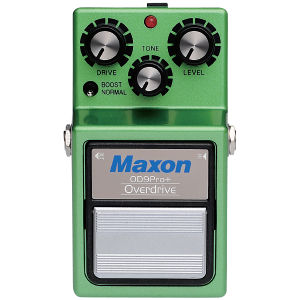 Maxon OD-9 Pro+ Overdrive Pro+ Guitar Effect Pedal