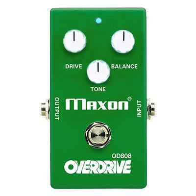 Maxon OD-808 Limited Edition 40th Anniversary Keeley Max Gain Mod Overdrive Guitar Effect Pedal