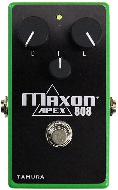 Maxon Custom Shop Apex 808 Overdrive Guitar Effect Pedal
