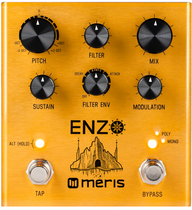 Meris Enzo Multi-Voice Synthesizer Guitar Effect Pedal