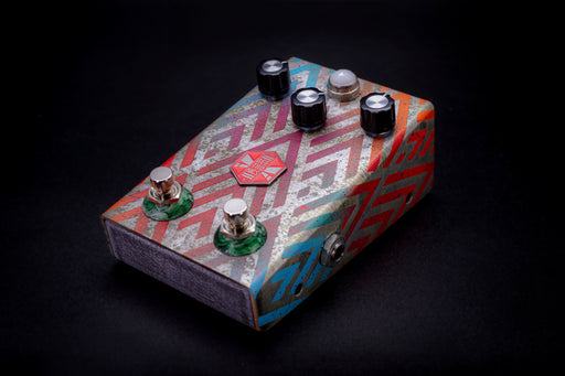 BeetronicsFX Limited Edition Octahive Super High Gain Fuzz High Octave Dual Footswitch Red
