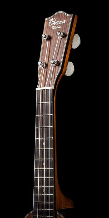 Ohana SKB-35 Bell-shaped All-Solid Mahogany Soprano Ukulele