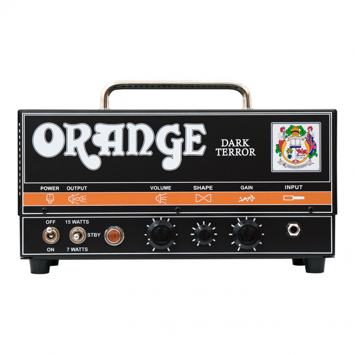 Orange Dark Terror 15/7-watt Hi-Gain Tube Guitar Amp Head