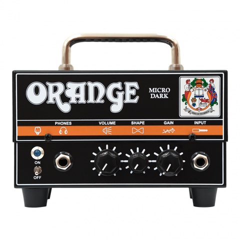 Orange Micro Dark 20-watt Hybrid Head