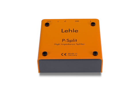 Lehle P-Split II Passive Splitter Box with Electrically Isolated Outputs, Phase Reverse Switch, and Ground Switch