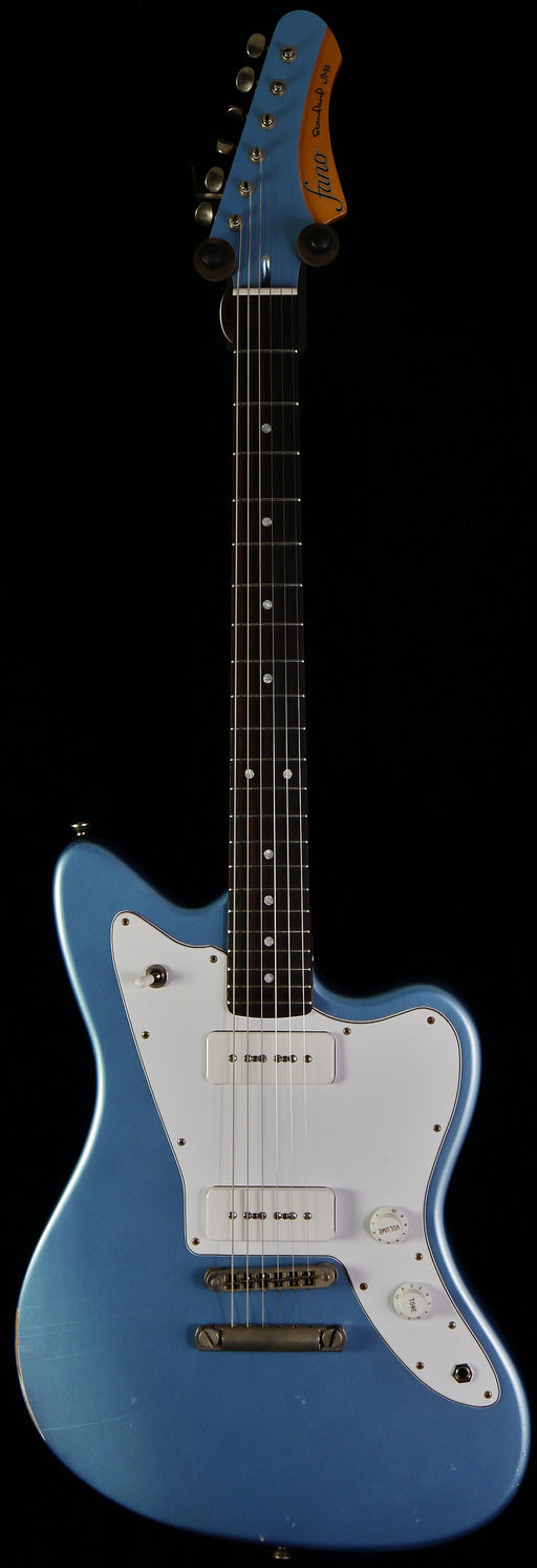 Fano JM6 Standard Ice Blue P-90 With Gig Bag