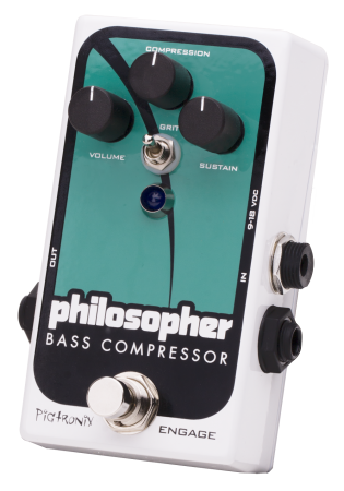 Pigtronix Philosopher's Bass Compressor Pedal