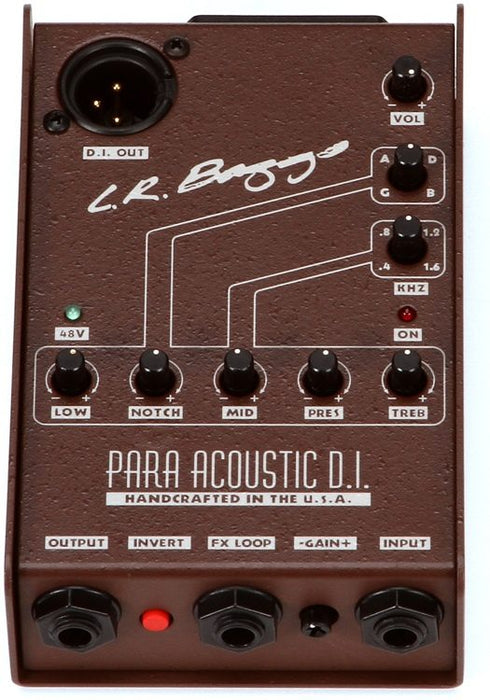 LR Baggs Para DI Acoustic Preamp 5-band EQ and Direct Box