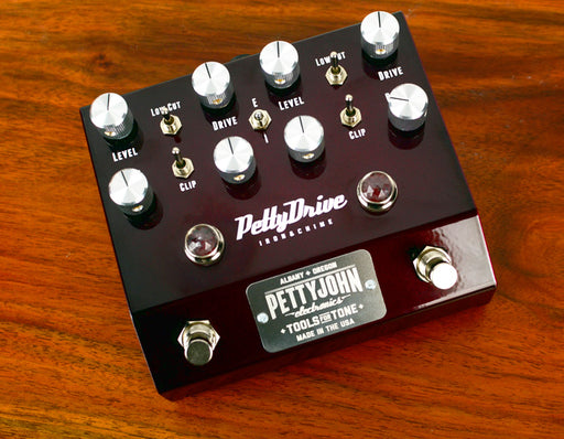 PettyJohn PettyDrive V2 Overdrive Guitar Effect Pedal
