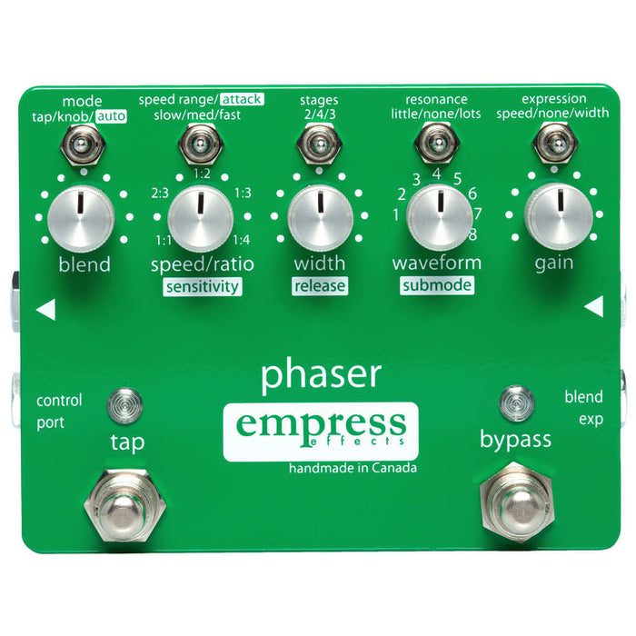 Empress Effects Phaser Guitar Effect Pedal