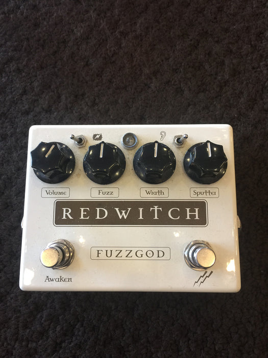 Used Redwitch Fuzzgod Fuzz Guitar Effect Pedal