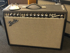 Used Fender '65 Deluxe Reissue Tube Combo Amplifier With Footswitch & Cover