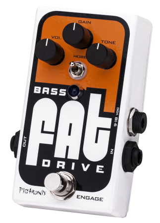 Pigtronix Bass FAT Drive Overdrive / Distortion Pedal