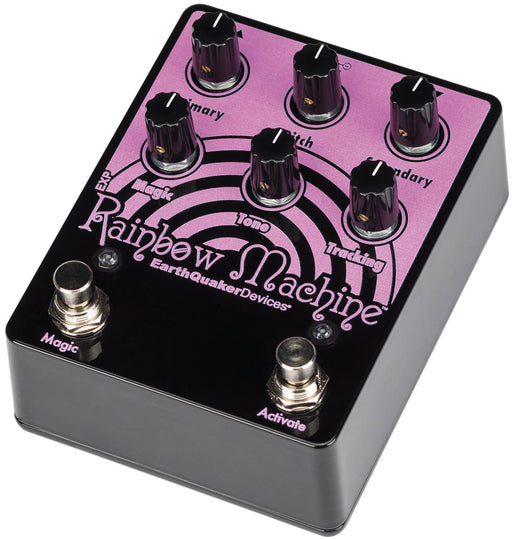 Earthquaker Devices Limited Edition Pink on Black Rainbow Machine Polyphonic Pitch-Shifter Pedal