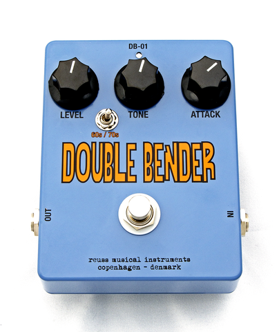 Reuss DB-01 Double Bender Fuzz Guitar Effect Pedal