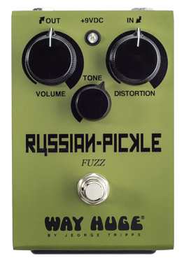 Way Huge WHE408 Russian Pickle Fuzz Guitar Effect Pedal