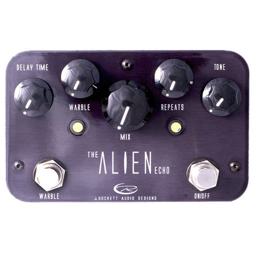 J Rockett Audio Designs Pro Series Alien Echo Delay Guitar Effect Pedal