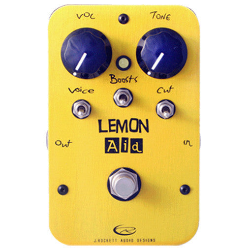 J Rockett Audio Designs Pro Series Lemon Aid Preamp Guitar Effect Pedal