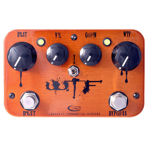 J Rockett Audio Designs Signature Series WTF Fuzz Guitar Effect Pedal