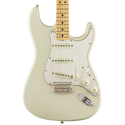 Fender Custom Shop Limited Edition Jimi Hendrix Stratocaster Aged Olympic White