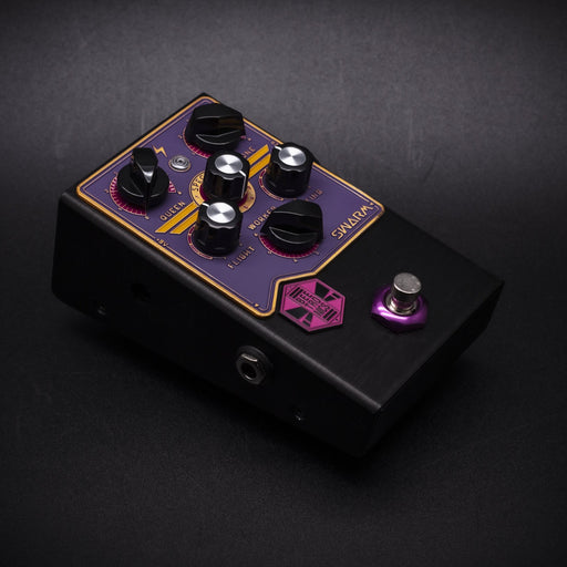 BeetronicsFX Standard Series Limited Run Swarm Purple/Gold/Pink Truetone Music Exclusive Color Fuzz Harmonizer Pedal